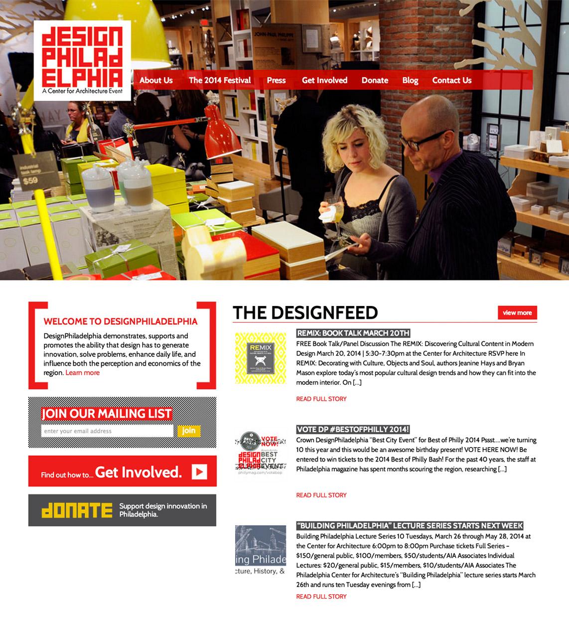 DesignPhiladelphia Website Design