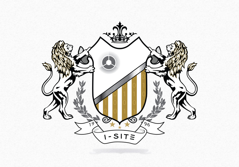 I-SITE logo design